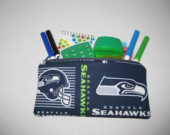 Seattle Sea Hawks Football Team Pencil Case