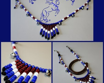 Custom Colours Rhythm Beads, BREAST COLLAR  Style Rhythm Beads, Breast Plate Beads, Speed Beads, Western Riding, Horse Lovers, Horse Beads,