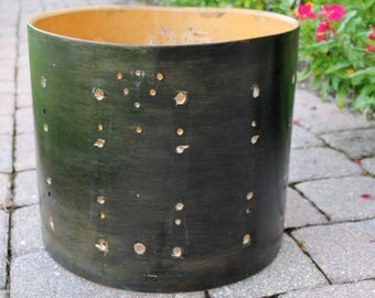Vintage Ludwig Marching Snare Drum Shell Part Great for Lighting, Table Or Drum Project 1960s 1970s