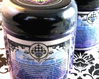 Whipped Body Butter Balm/ Belly Butter/ Mango Shea Kokum & Cocoa Butter Lotion With Jojoba, Hazelnut Oil, Lanolin, Allantoin  – NOT Vegan
