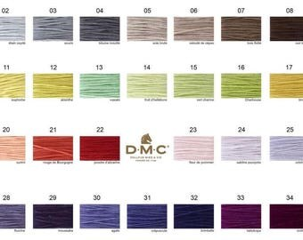 NEW DMC 35 Colors 01-35 counted cross stitch embroidery thread floss cotton