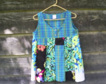 Recycled Tunic Size Small.
