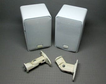 Realistic Optimus speakers Pro X44av in white
