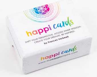 Happi Cards, inspiring cards, affirmation cards, oracle cards, positive gift,