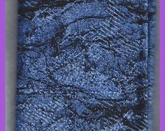 Denim Blues Cotton Fabric Fat Quarter 18 x 22 Inch