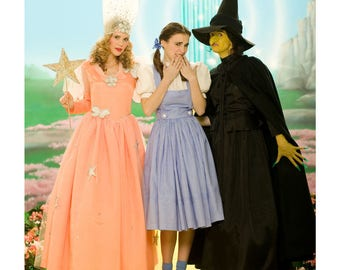 Simplicity Pattern~ Wizard of Oz Costumes ~ Simplicity Pattern 4136 /C4136 Misses' Costumes ~ Uncut Factory Folded