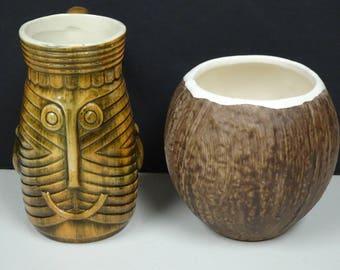 Vintage Tiki Mugs