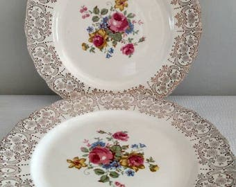 Canonsburg Floral Dinner Plate Set