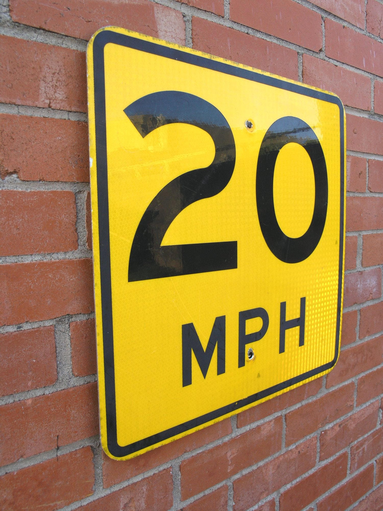 speed limit road sign 20 anniversary 20th birthday gift party decor ...