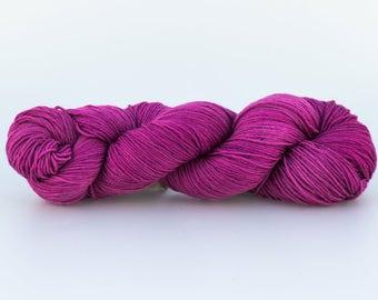 Laine teinte tricotcolor mérinos fourniture créative wool laine fil mercerie handdyewool arc en ciel fil à tricoter crocheter knit