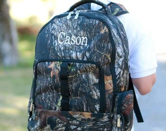 Boys Personalized camo Backpack - Monogrammed Camouflage Backpack - Woods Book Bag ~ Monogrammed Boys Camo Backpack ~ FREE Personalization