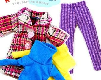 Clearance Sale - YAN -  Turtleneck Top for Blythe doll