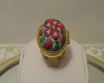 MOD High Dome One Of A Kind Perfume Ring