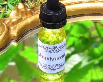 Frankincense Spiritual Ritual Oil Open Third Eye Purification Blessing CURIO Gypsy Witch Magick Pagan Wicca