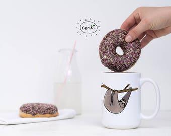 Sloth Mug, Sloth Coffee Mug, Cute Sloth Gift, Sloth Mugs, Sloth Coffee Cup, Cute Sloth Mug, Sloth Design Mug, Cute Sloth Mugs, Sloths, Sloth