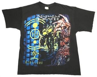 NAPALM DEATH vintage 1996 shirt - M/L