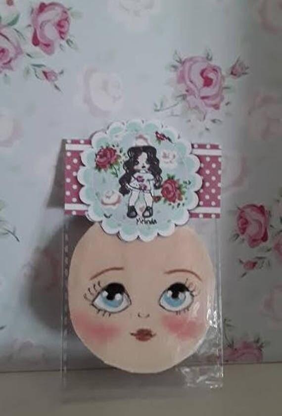 face,faccina per bambola Melinda