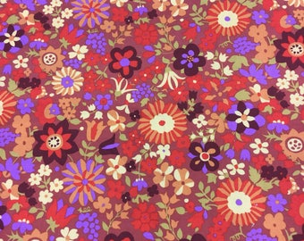 Rowan fabric Marylebone Katy in brown by the Half Metre