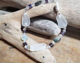 Beach Glass Bracelet