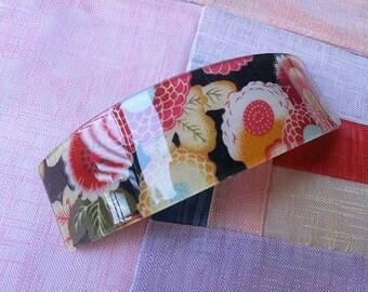 Japanese hair pin , Kimono hair clip accessories #Black