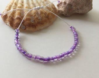 Seashell Jewelry ... Wish Bracelet ... Adjustable ... Seed Bracelet on White  (1635)