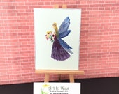 Fairy Art Miniature Collectible  ACEO Paintings by Miniature Artist Hazel Rayfield