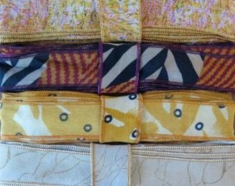 12 Yards of Silk Trim, 4 colors, C95