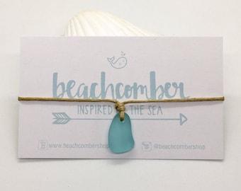 sea glass jewelry, eco friendly beach anklet bracelet