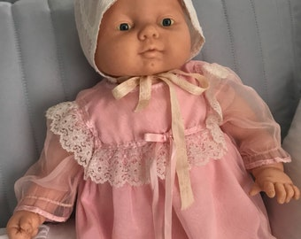 "1986 Cititoy Baby Doll, 21""  (bonnet sold separately )"