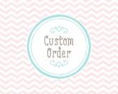 Reserved - Custom Listing - Isaiah