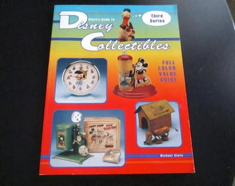 Disney Collectibles Stern's Guide Third Series 1995 Coffee Table Decor