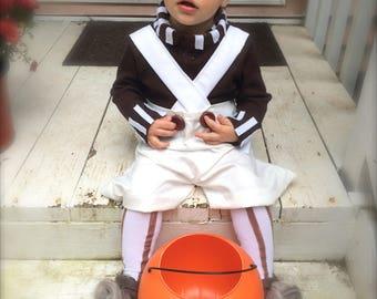 Halloween Oompa Loompa costume baby toddler costume