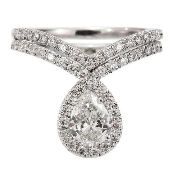 like this item - Pear Shaped Wedding Ring Sets