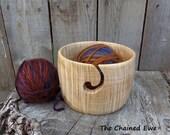Yarn Bowl, Maple Wood
