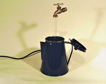 Porcelain Coffee Percolator Fountain