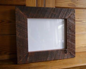 """8x10"""" reclaimed cherry frame"""