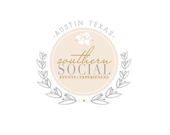 Custom Logo - Business Logo - Custom Logo Design - Logo Stamp - Event Planning Logo Design