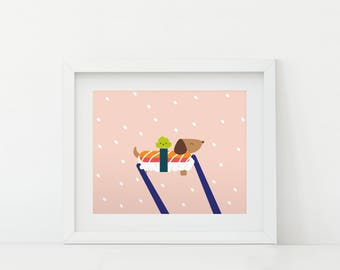 Darby + Dot™ - Sushi - Art Print