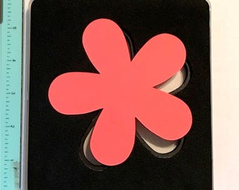Sizzix Clear Flower Bigz Die - Cleaned and Tested