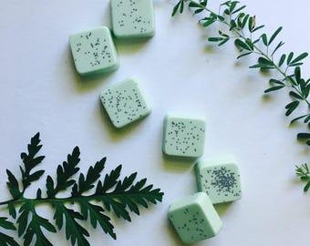 Cucumber Mint Guest Soaps Set of 6