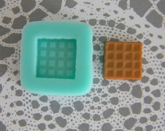 Flexible Mold - Square Waffle