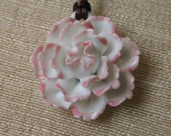 Chrysanthemum Pendant Necklace