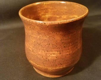 Wheel thrown vase