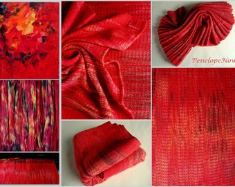 Reserved Handwoven Baby Wrap, Cotton, Size 3, ( 72 X 340 cm)