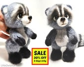 149 Crochet Pattern - Raccoon - Amigurumi soft toy PDF file by Ogol Etsy