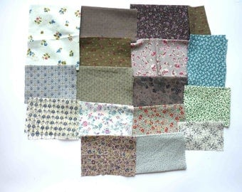 set of fabrics for patchwork 216 coupons