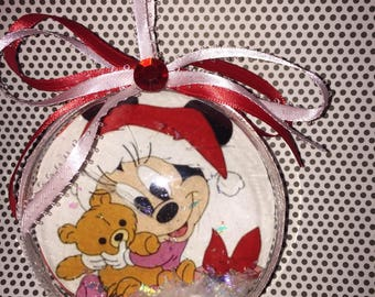 Baby Minnie Mouse ornament