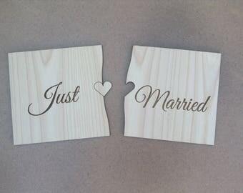 Custom Extra Large Puzzle Pieces Photo Prop - Wedding Decoration - Sign