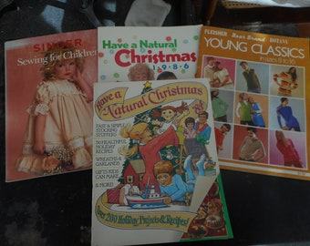 VINTAGE Sewing and Craft Magazines