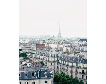 Paris photography, canvas art, paris wall art, large art, Paris canvas, Paris print, Eiffel Tower print, Eiffel tower canvas black and white